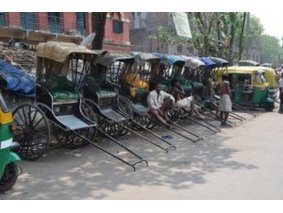Calcutta, Rickshaws