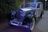 Vintage car 1934 Rolls-Royce 20/25 7 Passenger Sedan (coach built by Kellner, France) from Mr Diljeet Titus's collection was on display