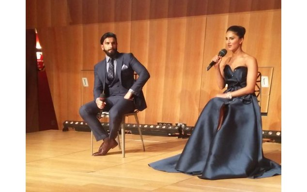 Launch of Befikre trailer at Eiffel Tower