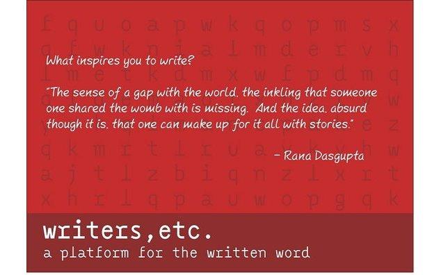 Writers, etc : Rana Dasgupta in conversation with Chiki