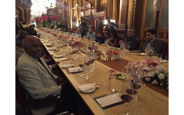 Wine tasting event for the best Bordeaux wines at Taj Falaknuma, Hyderabad