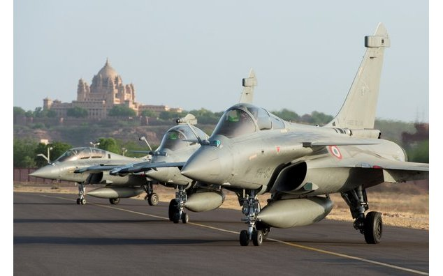 "File photo: Rafale aircraft during Indo-French Air Exercise ""Garuda V"""