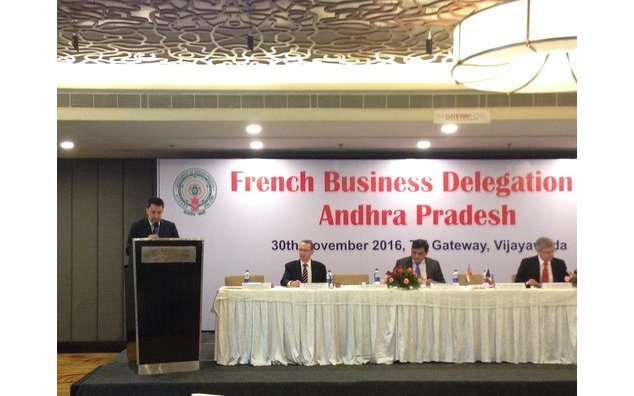 French Ambassador to India leads business delegation to Andhra Pradesh