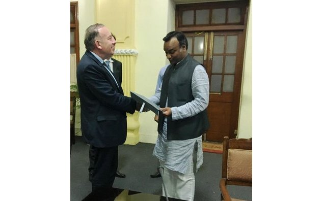 Meeting with Shri Priyank Karge, Hon'ble Minister of IT, BT, S&T and Tourism