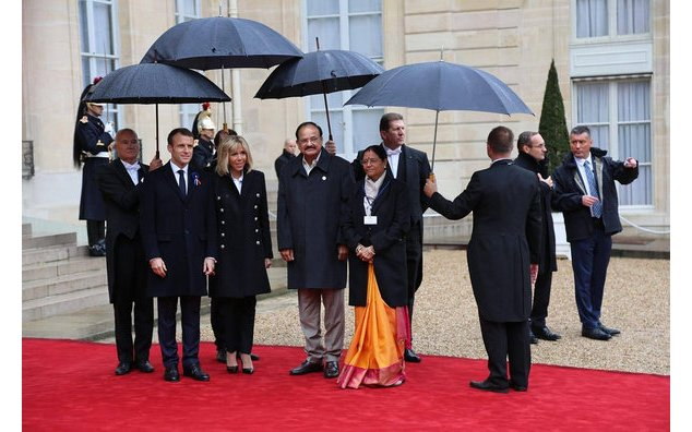 Visit of the Vice President of India, Shri M Venkaiah Naidu to France