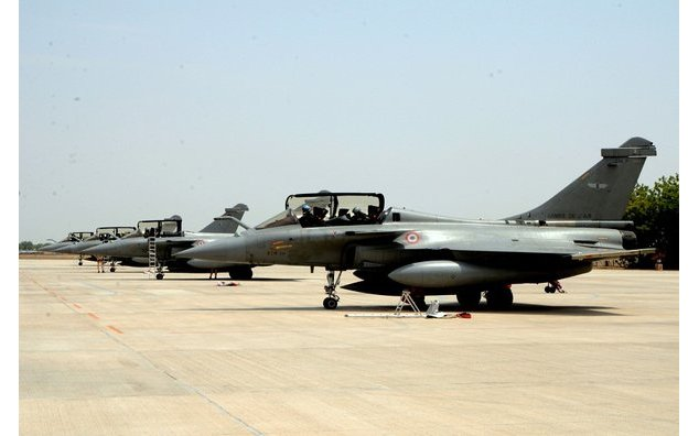 Air Exercise between Indian Air Force and French Air Force (Exercise Garuda-V) commences at Jodhpur