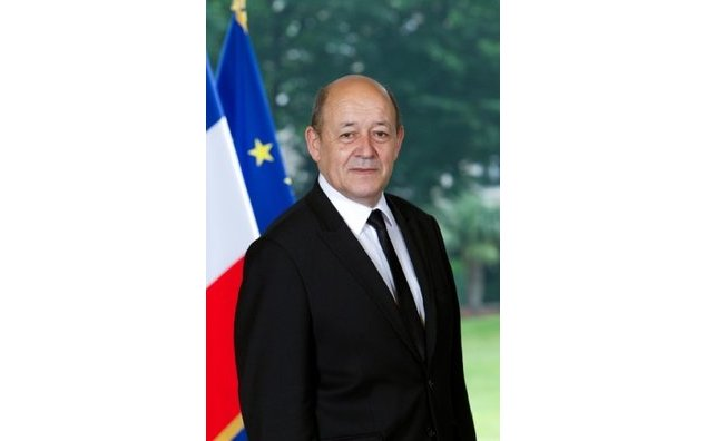 Visit of Mr Jean-Yves Le Drian, French Minister of Defence