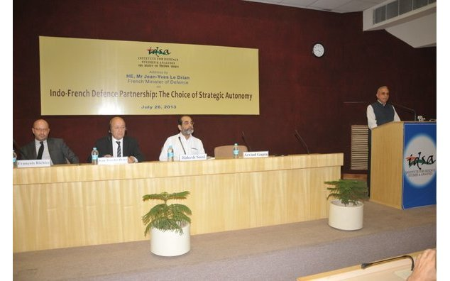 Director General of IDSA, Mr Arvind Gupta gives his welcome speech